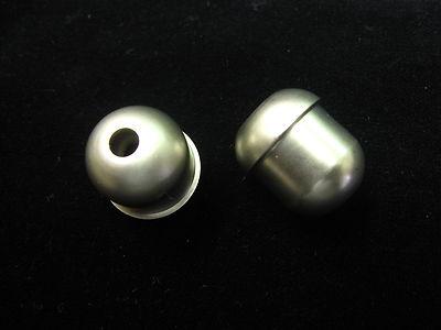 5 Classic Matt Silver Cord Pull Small Satin Steel Roman